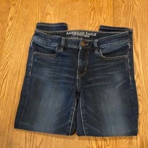 American Eagle Outfitters jegging crop size 4